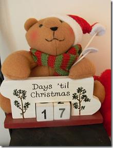 адвент календарь деревянный