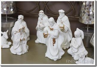 фарфоровые рождественские статуэтки