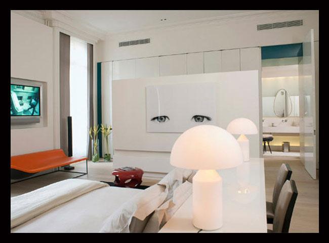 интерьер гостиной дизайнера Тристана Ауэра