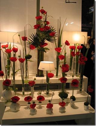 маки искусственные цветы VG на выставке Meson&Objet
