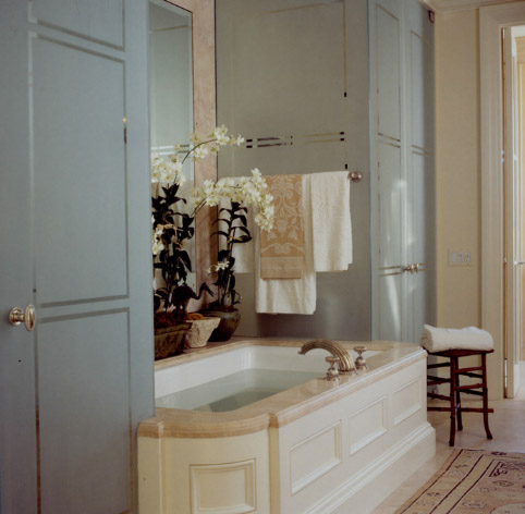 Ванная в парижском стиле