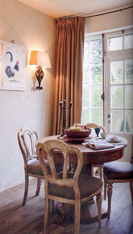интерьер столовой бельгийского дизайнера
