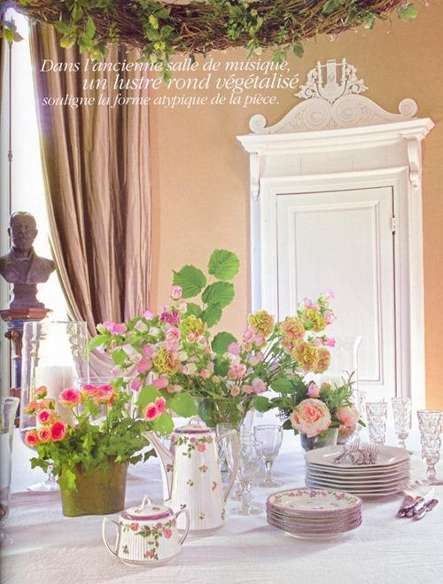 интерьер от бельгийского дизайнера - столовая в гостевом доме