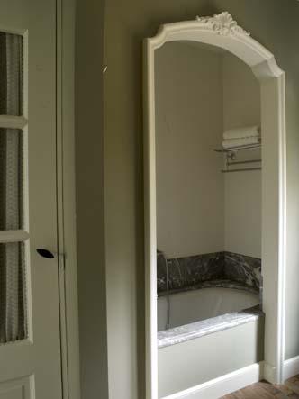 ванна в интерьере бельгийского гостевого дома