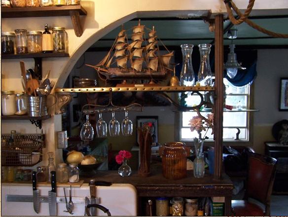 декорирование кухни макет корабля