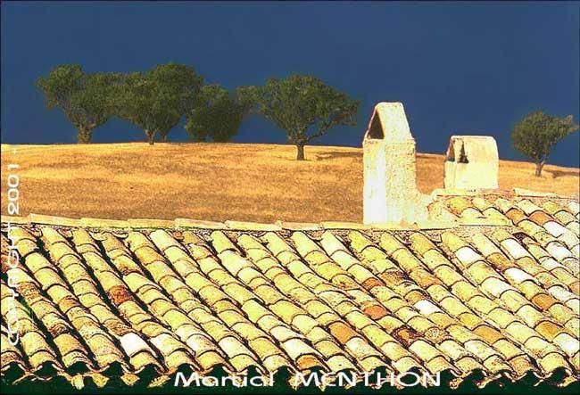 Пейзаж с крыши вдохновляющий стиль прованс в интерьере