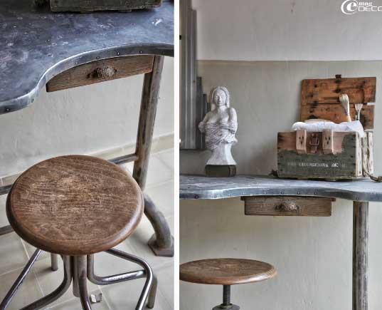 Отделки деревом мебели в стиле прованс