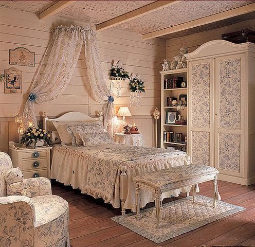 Детская спальня стилизованная под стиль прованс