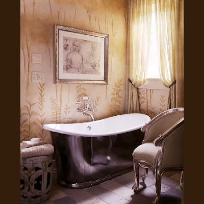 роскошная ванная Барри Диксон