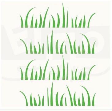 стикеры трава