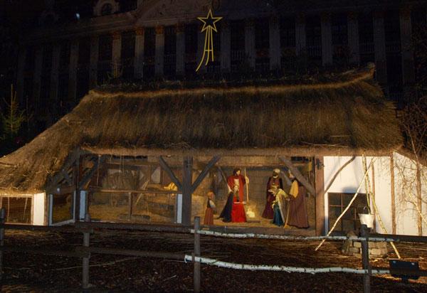 рождественский ковчег Брюссель