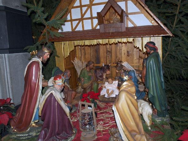 рождественский ковчег  где-то в Арденнах
