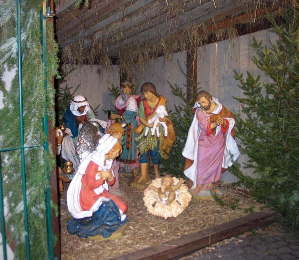 рождественский ковчег Лювен