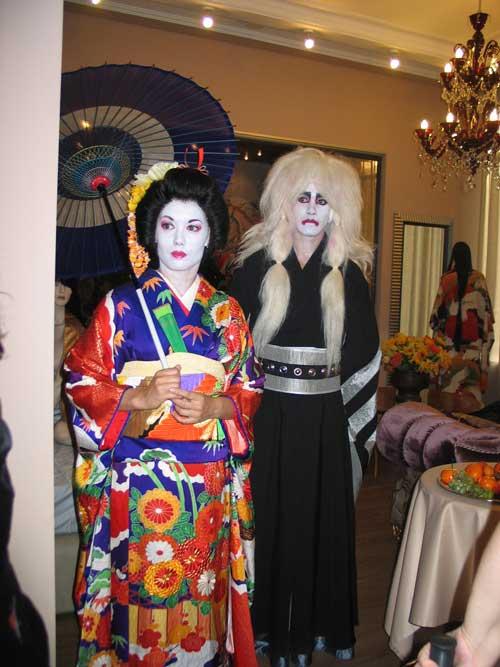 костюмы японский царь и богиня