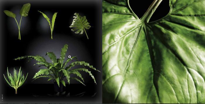 искусственные листья и веточки  VG