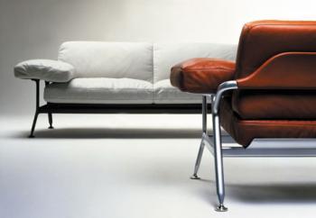 Orione sofa для Poltrona Frau дизайн Микеле де Лукки