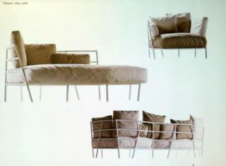 софа для Alias дизайн Микеле де Лукки