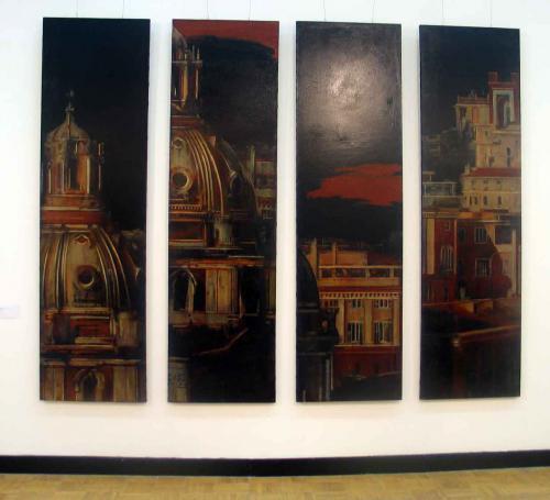 работа Татьяны Подмаковой на выставке Арт-Москва 2011