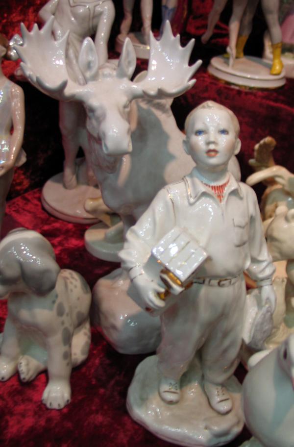фарфоровые статуэтки советской эпохи
