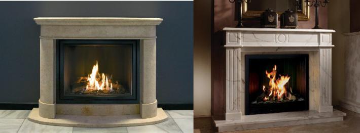 модели газовых каминов, подходящих для классических интерьеров