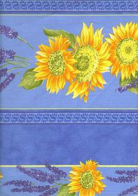 Ткань, лаванда и желтый. Применяется при отделке в стиле прованс в интерьере.