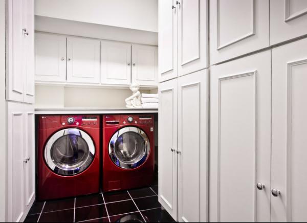 цветные стиральная машина и сушка