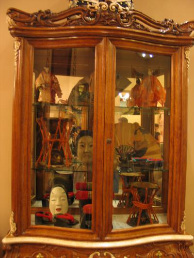 японские коллекции в витрине