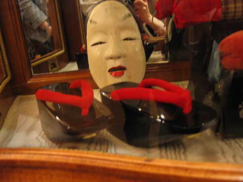 обувь гейши